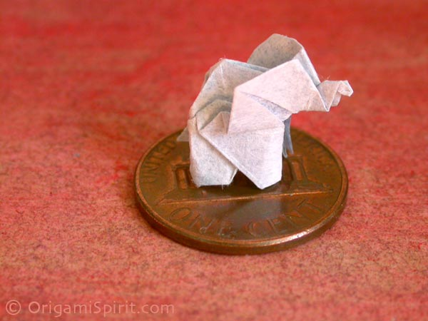 How To Make An Origami Elephant Designed By Fumiaki Kawahata